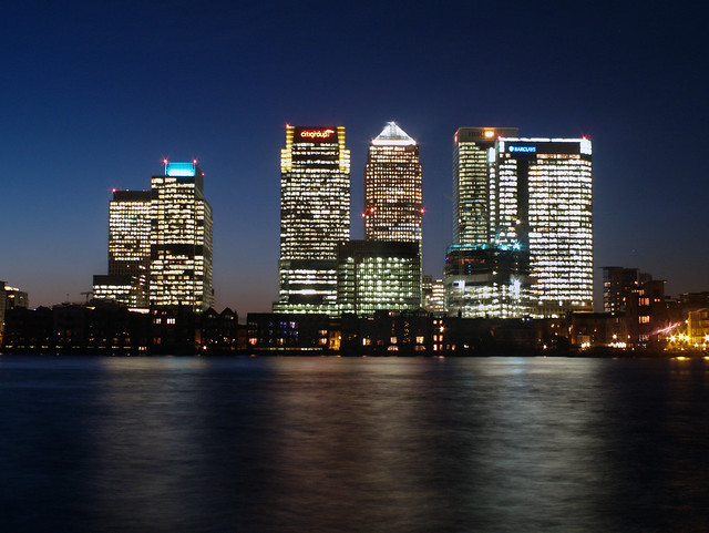 0924 Canary Wharf At Night