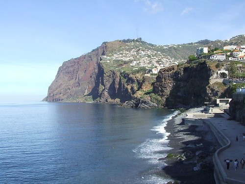Madeira - Camara De Lobos - Towards Cabo Girao