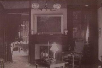 Parlor interior 1870's
