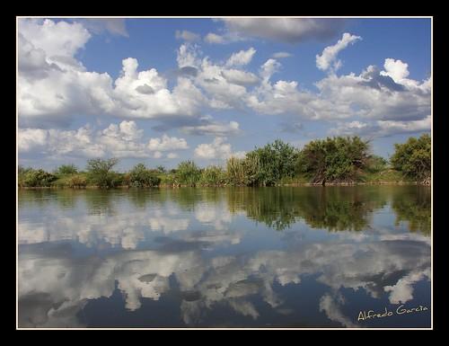 chihuahua rio mexico agua bravo reflejo antiguo ojinaga naturesfinest cauce