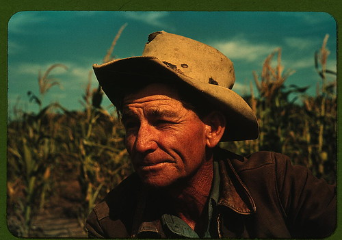 Jim Norris, homesteader, Pie Town, New Mexico  (LOC)