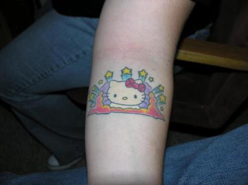 My Hello Kitty tattoo
