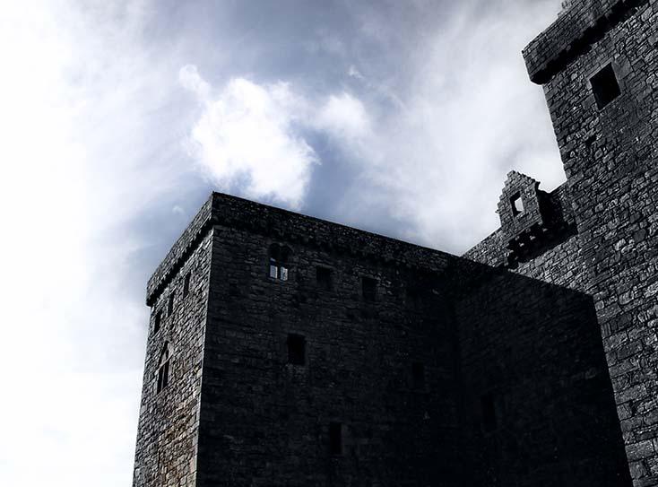 Photography - Hermitage Castle Dark Cast by Nicholas M Vivian