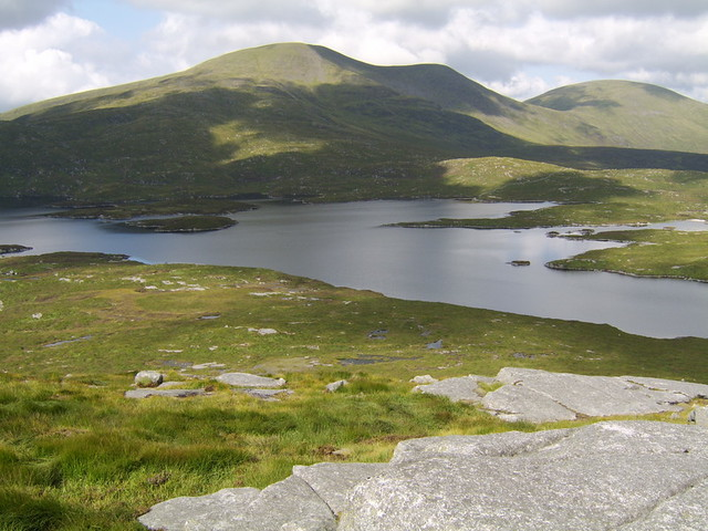 Loch Enoch and the Merrick