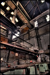 Abandoned Port Building