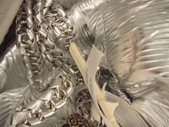 Absurd Silver Purse