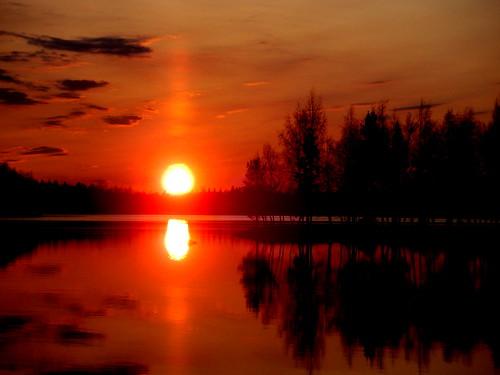 sunset love geotagged olympus geo:lat=63741143 geo:lon=22794356