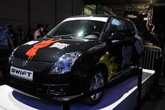 mid-size car(0.0), automobile(1.0), vehicle(1.0), automotive design(1.0), suzuki swift(1.0), auto show(1.0), city car(1.0), compact car(1.0), land vehicle(1.0), hatchback(1.0),