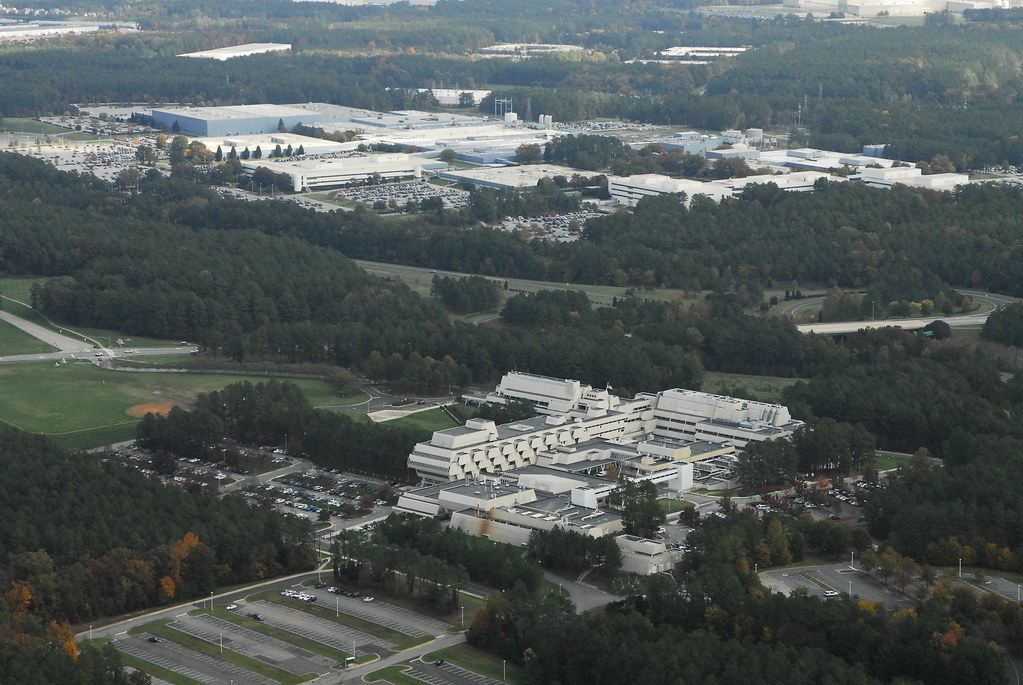 Ibm Rtp Campus Map.Ibm Main Campus Aerial Property Of The Research Triangle F Flickr