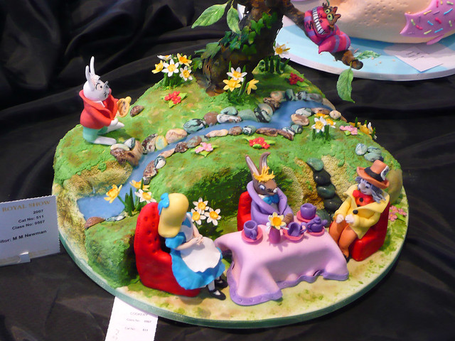 Детские торты с алисой в стране чудес в фото