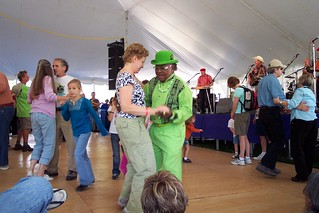 The Green Man Two Steppin'!