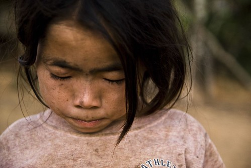 Hmong Village Girl