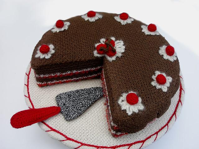 Crochet Birthday Cake Hat Pattern