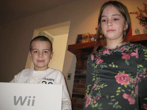 We did get a Wii after all!