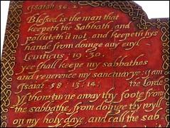 ye shall keepe my sabbathes