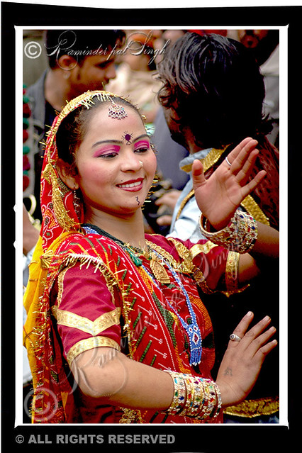 Folk Dancer - Amritsar