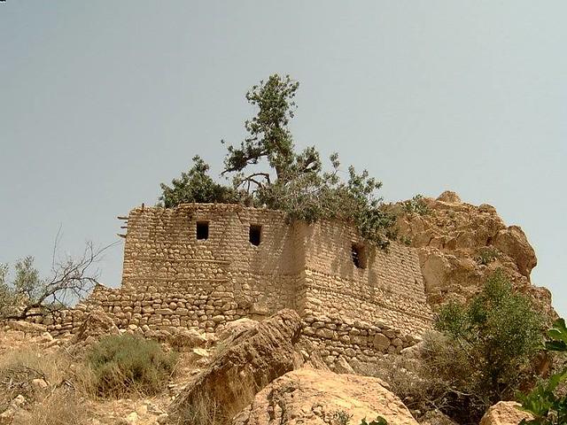 Ruins of an old religious school (Ljamaa n'Gacha), Ah Frah بقايا مسجد قشة ببني فرح