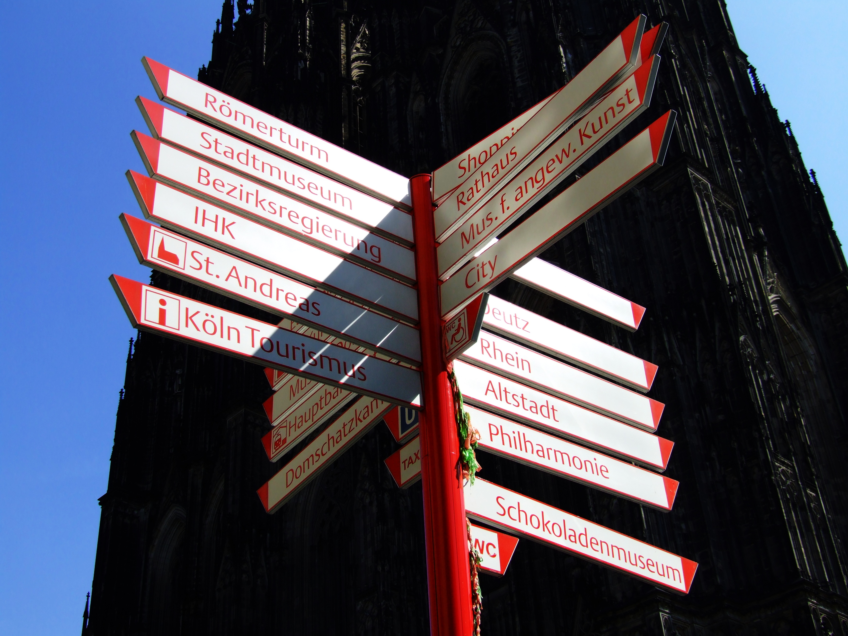 cologne direction signs flickr photo sharing. Black Bedroom Furniture Sets. Home Design Ideas