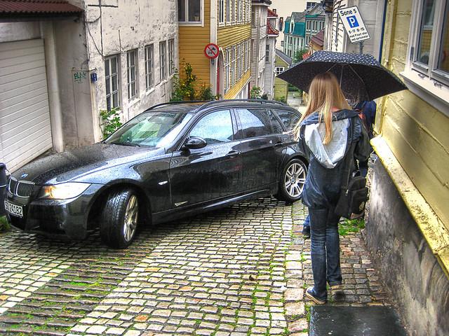 Bergen rain