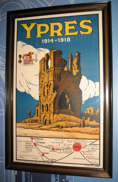 Ypres poster flanders fields museum ieper ypres flickr for Piscine ypres photo