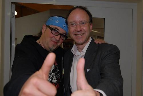 Starkoch Stefan Marquard und Le Gourmand Götz A. Primke