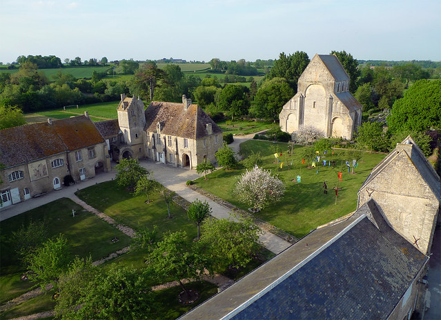 Prieuré de Saint Gabriel à Saint Gabriel Brécy (Calvados-FR)