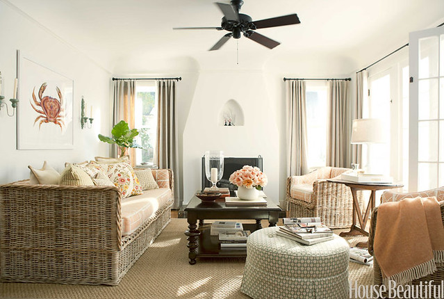 Lindsay Reid living room House Beautiful | Flickr - Photo Sharing!