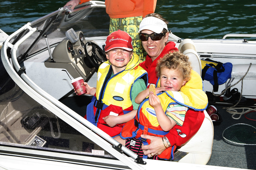 Kids in Lifejackets