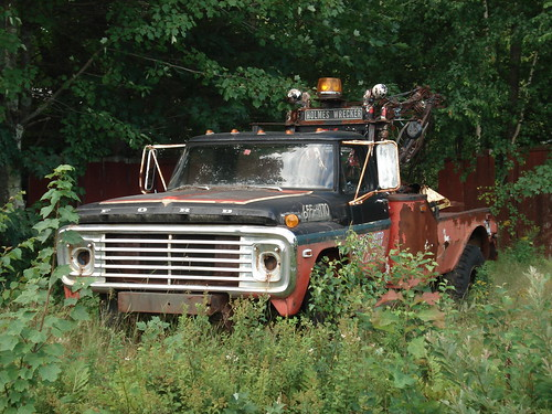 Ford Wrecker by carcrazy6509