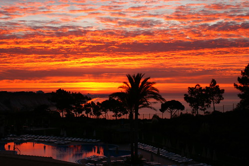 praia beach portugal strand sunrise algarve falesia sonnenaufgang