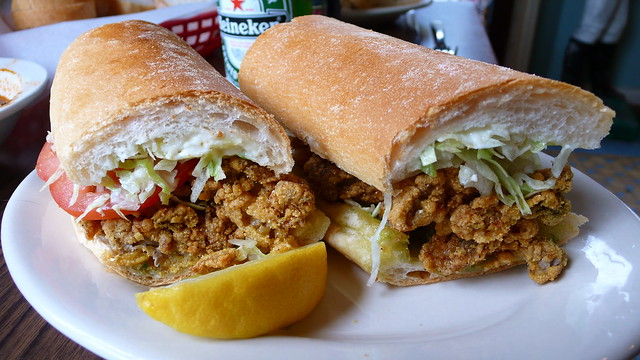 Fried Oyster Po' boy | Flickr - Photo Sharing!