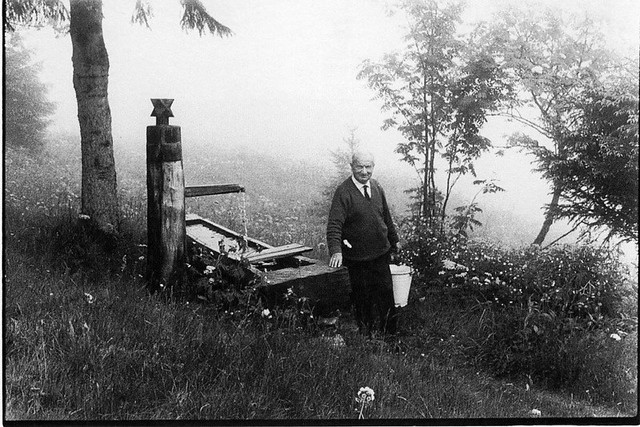 heidegger at the well