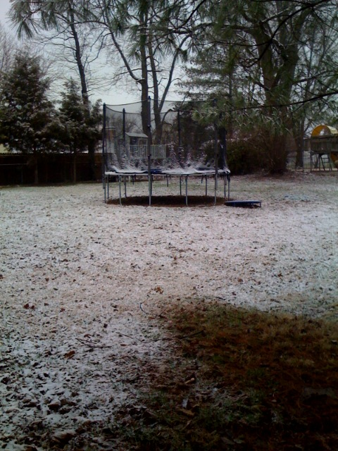 Snowing on Easter