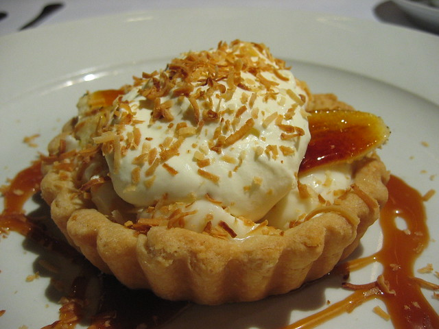 "Banana-Coconut Cream ""Pie"" 