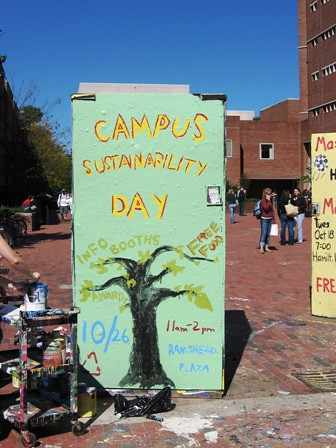 Campus Sustainability Day Cube