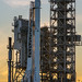 Falcon 9 and Dragon Vertical at Pad 39A by Official SpaceX Photos
