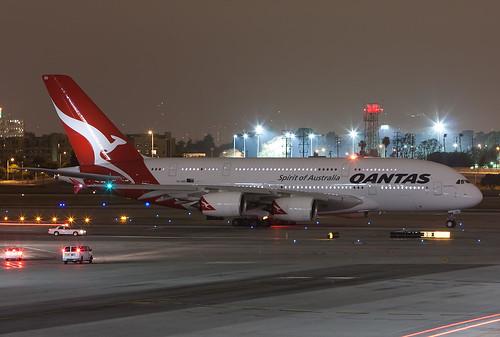 Qantas A380 VH-OQD