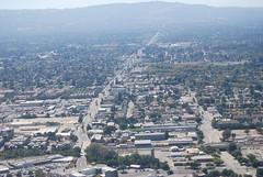 Stevens Creek Blvd starts as San Carlos and makes its way north...