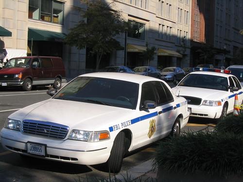 FBI cars