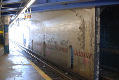 86th Street station tunnel