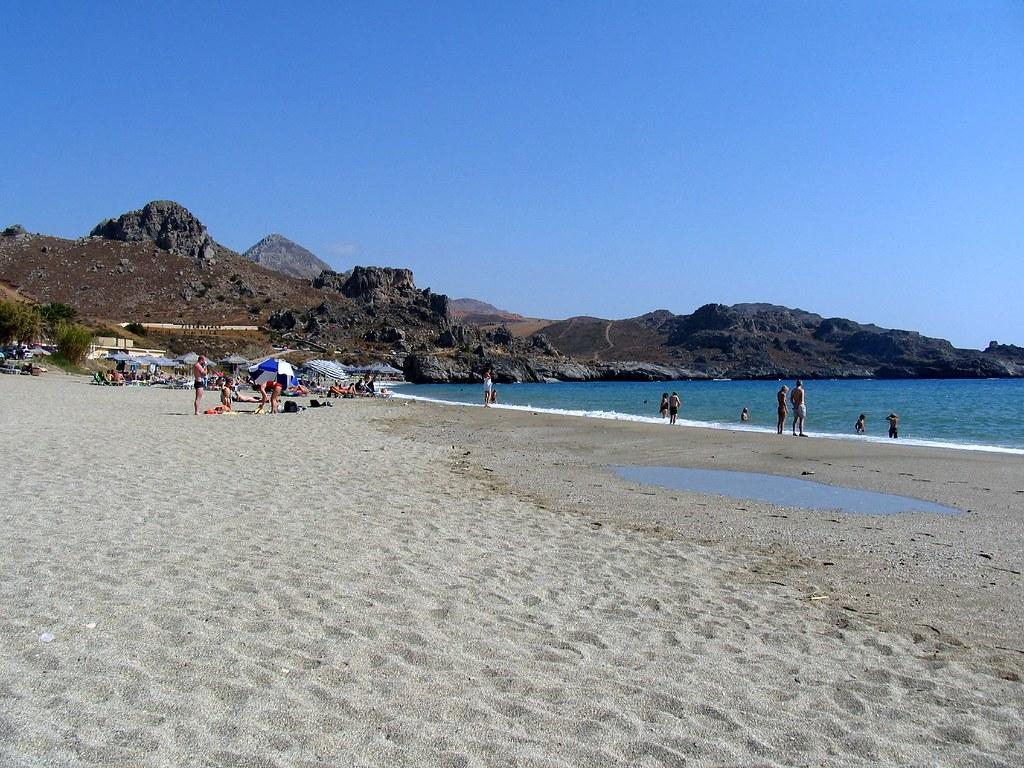 Crete - Preveli beach