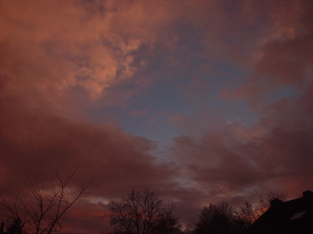Threatening sundown., Fujifilm FinePix1300