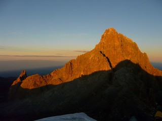 Bastian summit, Mount Kenya