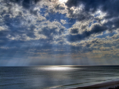 ocean vacation 15fav sunlight gulfofmexico water sunshine clouds 1025fav 510fav march spring sand waves florida afterthestorm springbreak shore fl rays sunrays 2008 hdr sunbeams crepuscularrays crepuscular jacobsladder jesusrays anticrepuscular sunstreaks tonemapped fingersofgod godsray autobracketed ropesofmaui gatewaystoheaven anticrespucularrays