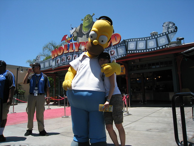 Simpsons Ride @ Universal Studios