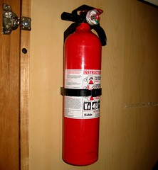 Fire Extinguisher, CHECK!