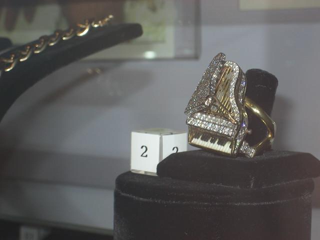 Liberace's piano ring.   Flickr - Photo Sharing!