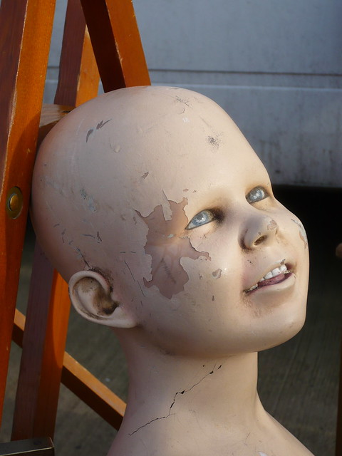 Creepy decaying mannequin 06/01