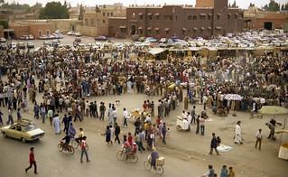 Djemaa el Fna, Marrakesh, 1988