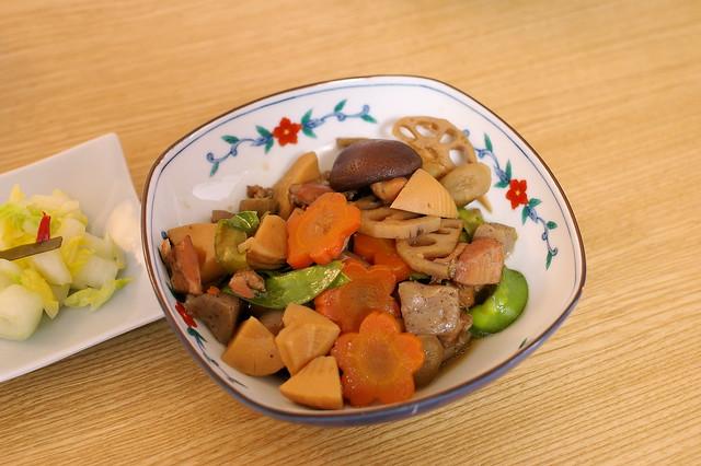 Chiku-zen-ni (Japanese cooked dish)